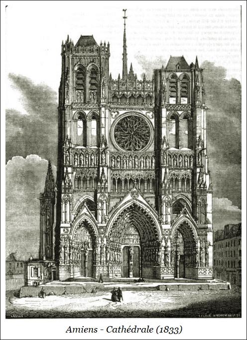 Amiens – Cathédrale (1833)