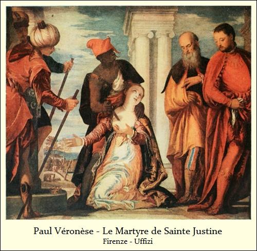 Paul Véronèse – Le Martyre de Sainte Justine