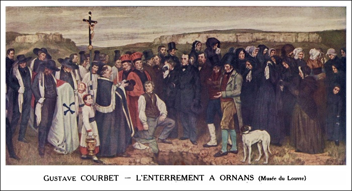 L'Enterrement à Ornans